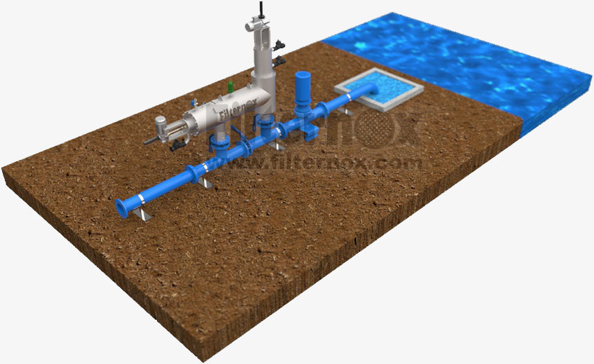 Surface water filtration system