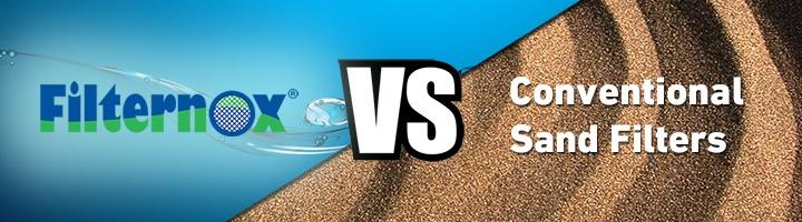 Sand filter comparison
