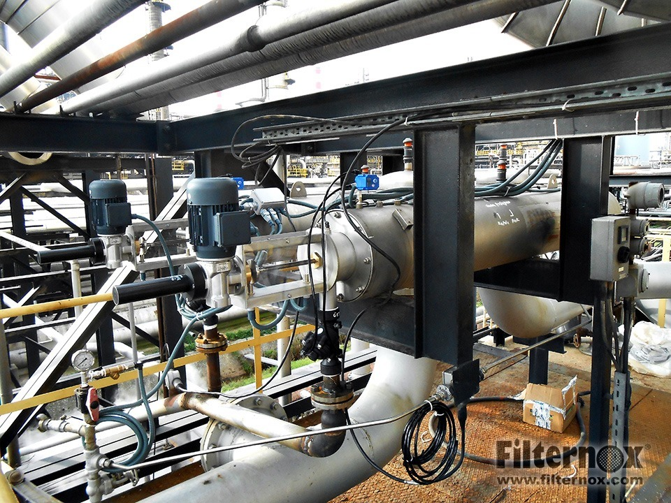 Filternox filters for hvac cooling tower water