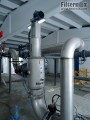prefiltration of WWTP inlet water (Turkey)
